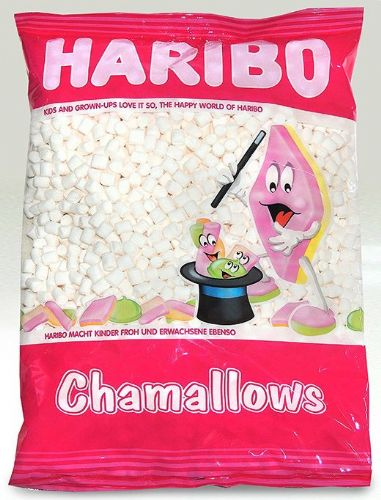 HB06 HARIBO WHITE MINI CHAMALLOWS 1KG